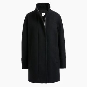 J. Crew City Coat, EUC, black, size 4